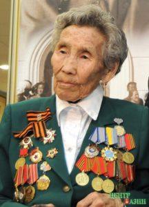 95 лет со дня рождения бойца Тувинского добровольческого эскадрона Веры Чульдумовны Байлак (1924-2013)